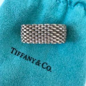 Tiffany and company mesh ring